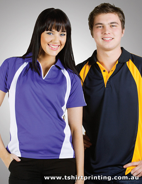 P94W Ladies Coolfast Mini-Waffle Polo