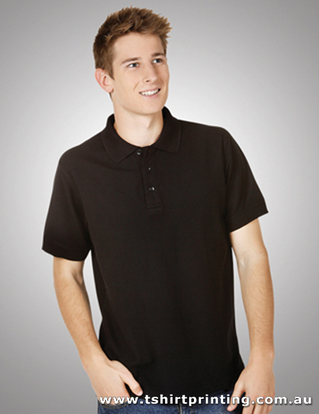P95M Adults Modern Fit Premium Pique Knit Polo