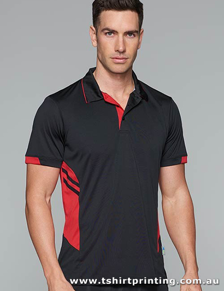 P98M Men's Polyester Tasman Polo