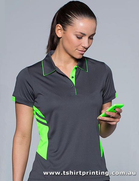 P98W Ladies Polyester Tasman Polo