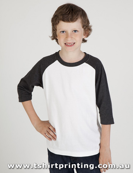 T41K Kids 3/4 Raglan Sleeve T-shirt
