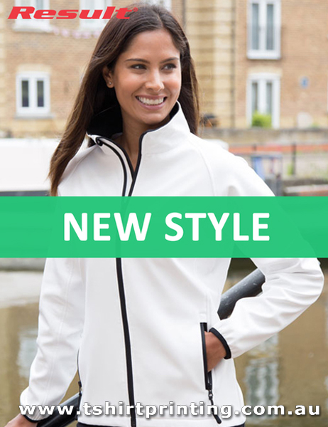 J13W Result Women's Printable Softshell Jacket