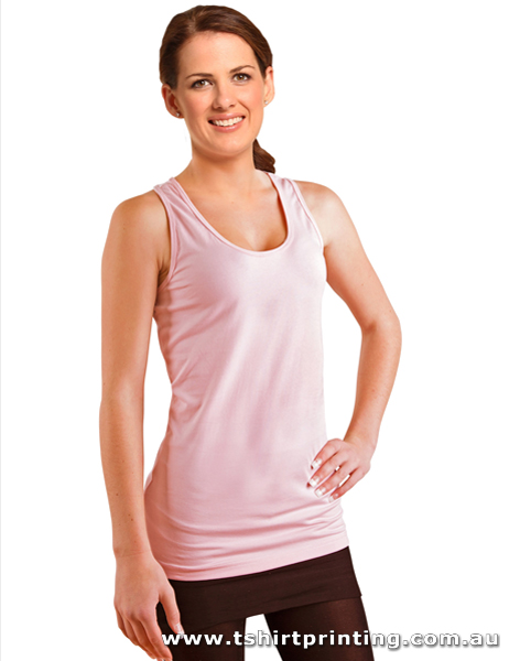 S28W Winning Spirit Ladies Stretch Racerback Singlet