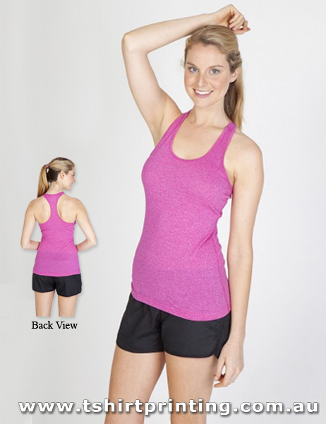 S79W Ladies Greatness Athletic T-back Singlet