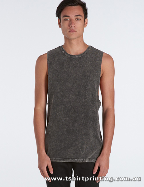 S89M Men Stone Wash Barnard Tank