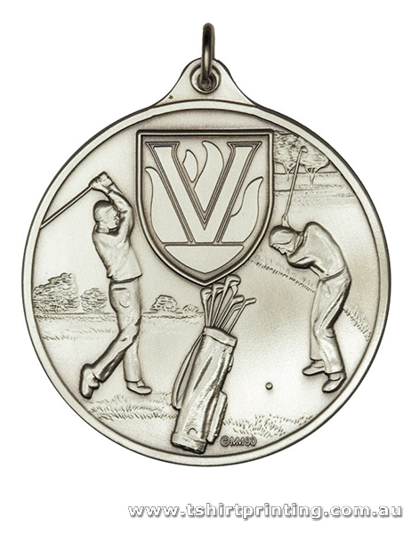 SP10 Olympic Golf Athletic Medal