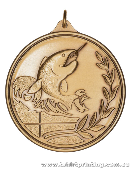 SP17 Recreational Fishing Competition Athletic Medal