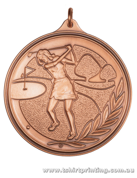 SP21 Womens Golf Competition Athletic Medal
