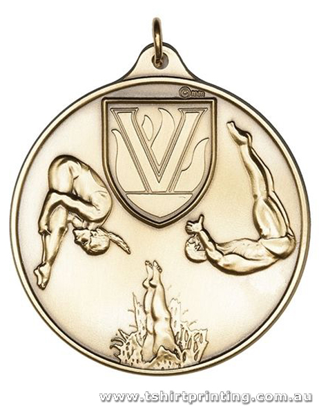 SP29 Diving Olympics Athletic Medal
