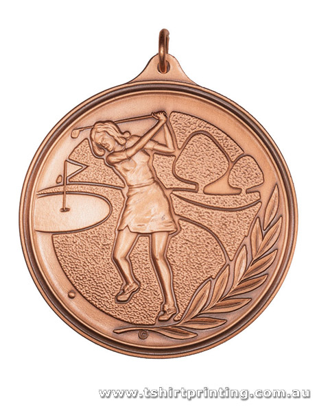 SP33 Golf Competition Athletic Medal