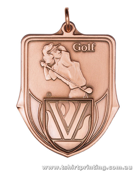 SP35 Golf Championship Athletic Medal
