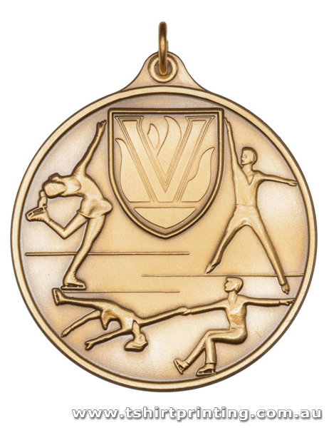 SP37 Ice Skating Championship Athletic Medal