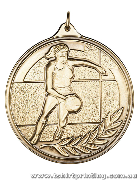 SP4 Womens Basketball Olympic Athletic Medal