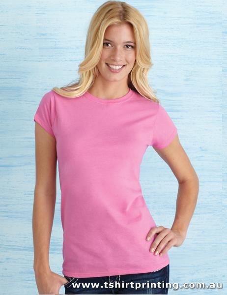 T10W Ladies Soft Style Tshirt