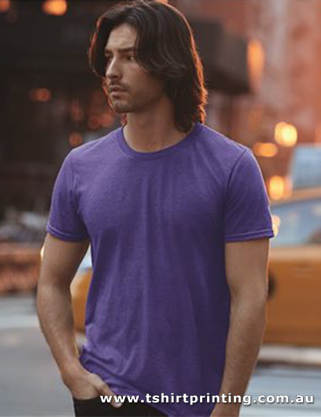 T110M Anvil Mens Triblend Tee