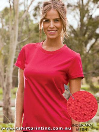 T14W Ladies Polyester Prize Tshirt