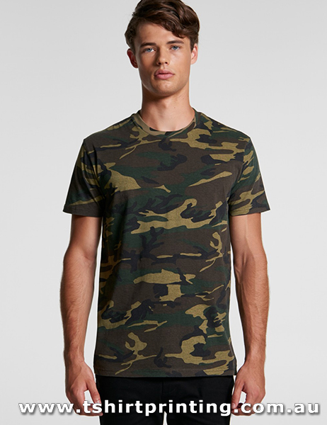 T18MC ASColour Mens Staple Camo tee