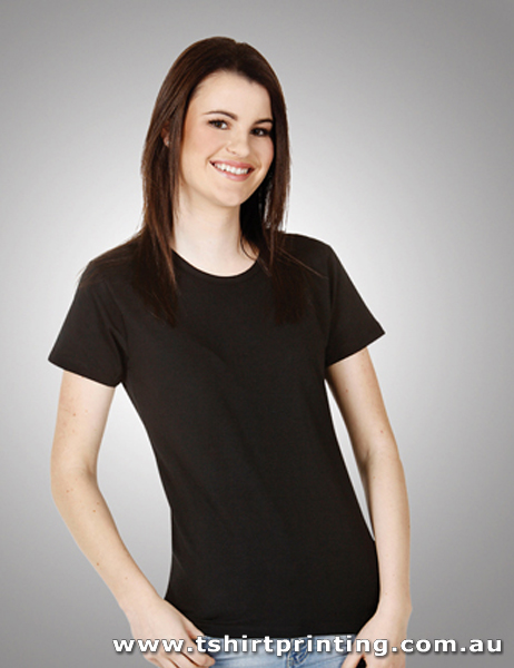 T24W Ladies Cotton Lycra (Round Neck) Tshirt