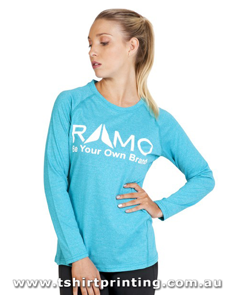 T56W Ramo Ladies Greatness Heather Long Sleeve