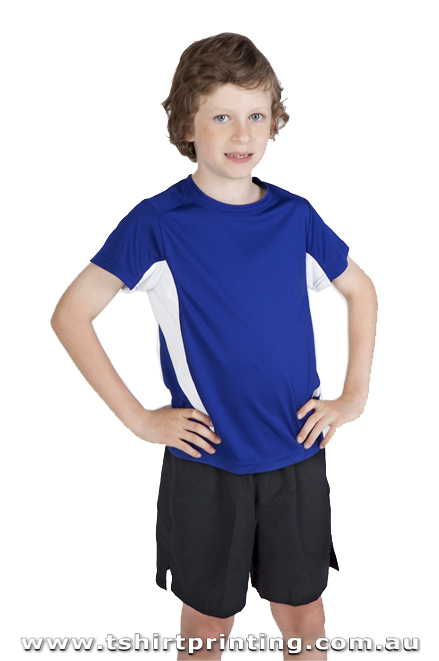 T73K Kids Accelerator Cool Dry Tshirt