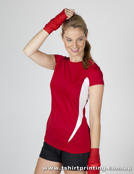 T73W Ladies Accelerator Cool Dry T-shirt