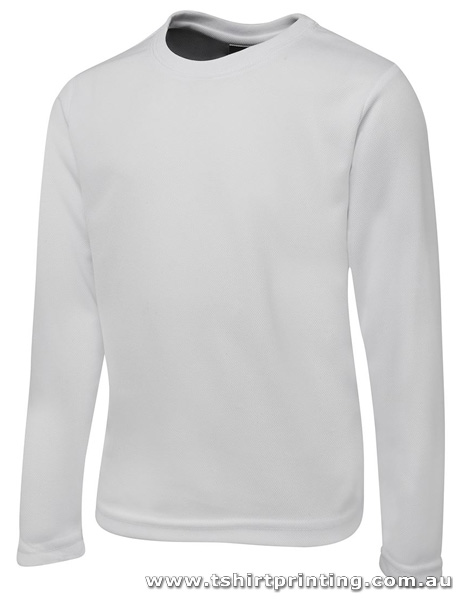 T78LK Johnny Bobbin Long Sleeve Polyester Tshirt