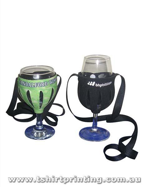 Wine Glass Holder Stubby Holder