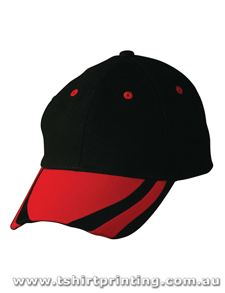 Winning Spirit 6 Panel Contrast Peak Caps