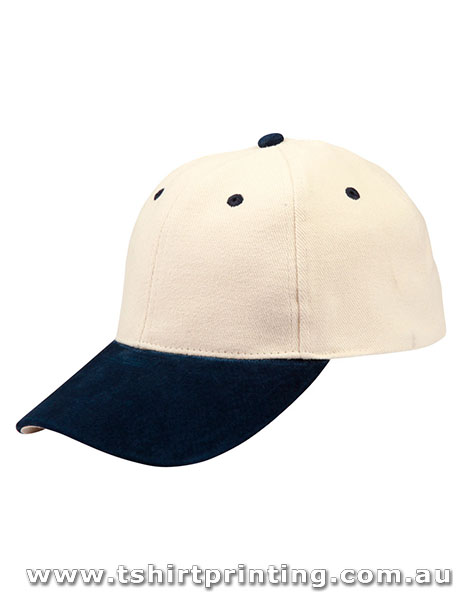 Winning Spirit 6 Panel Suede Peak Caps