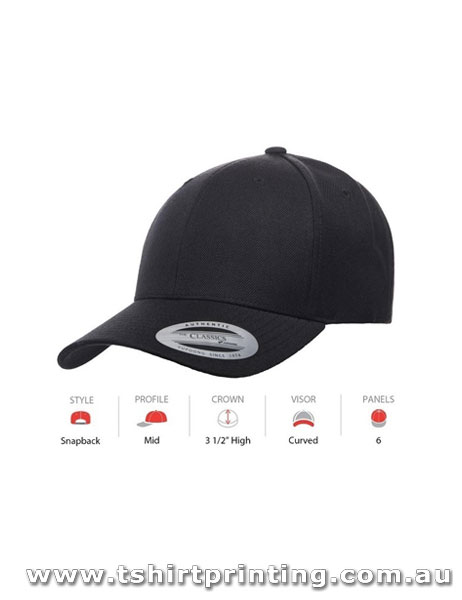 Yupoong Classic Premium Snapback Cap