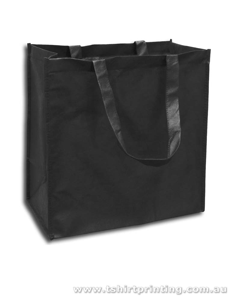 Big Shopper Nonwoven Short Handle Tote Bags