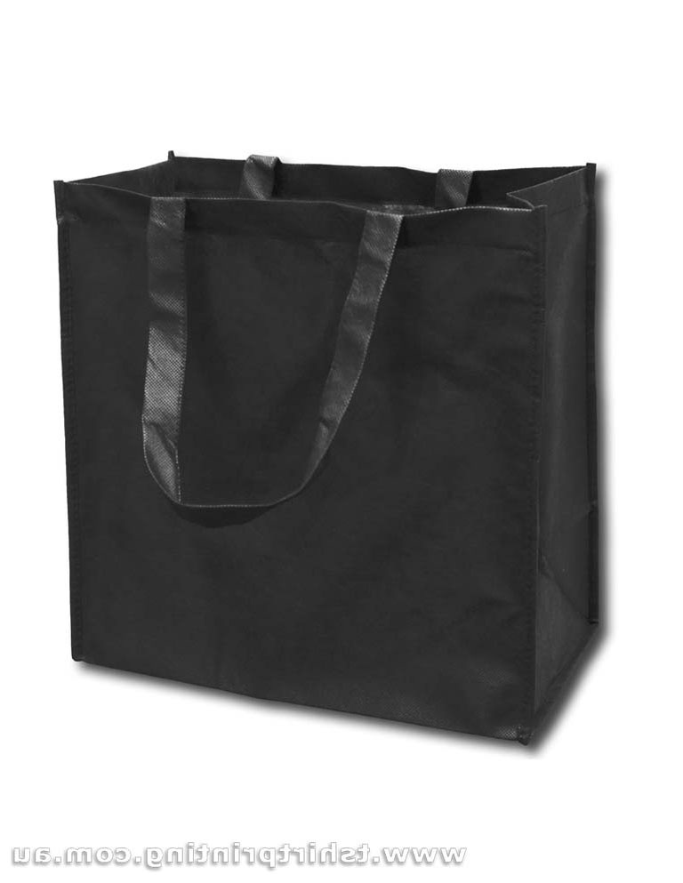 Conference Nonwoven Short Handle Tote Bags