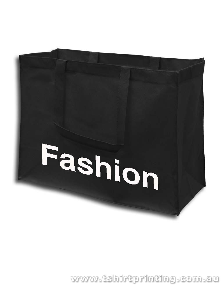 Fashion Shopper Nonwoven Short Handle Tote Bags