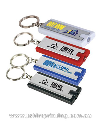 Rectangle Flashlight Keyring