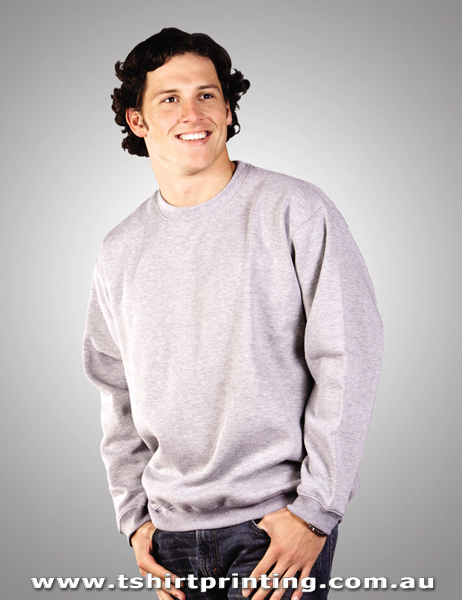 F01M Crew Neck Sloppy Joe Fleece Sweatshirt