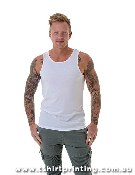 S93M CBs Clothing Mens Traditional Singlet