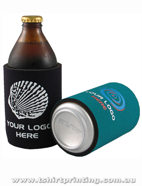 Screen Printed Stubby Cooler Without Base